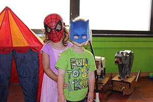 RMHC superhero children