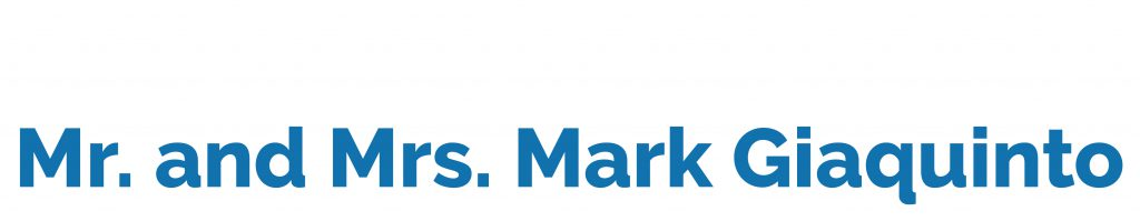 Mr. and Mrs. Mark Giaquinto logo image