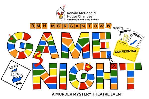 Murder mystery Game Night logo image