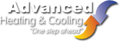 advanced heating and cooling logo image