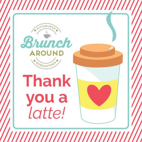 Brunch Around Thank You Logo Image