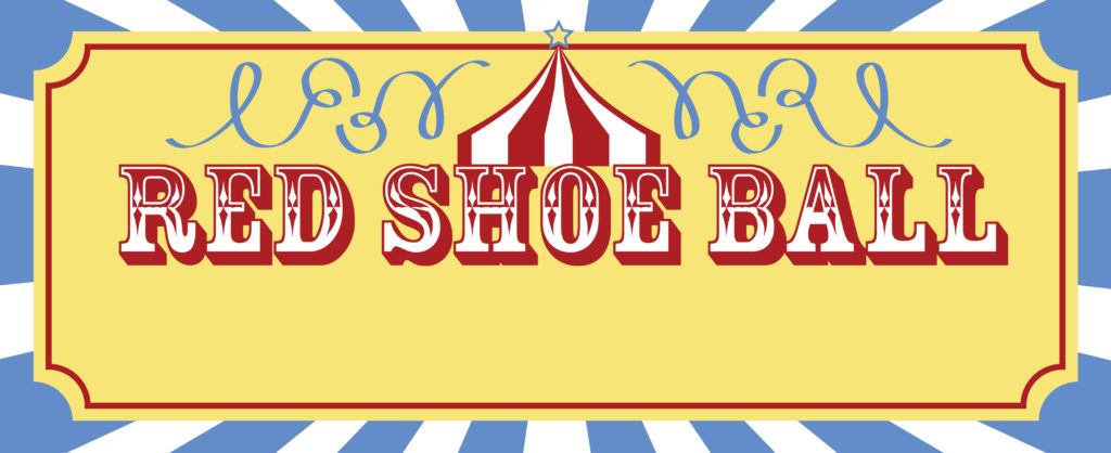 2019 Red Shoe Ball Logo Image