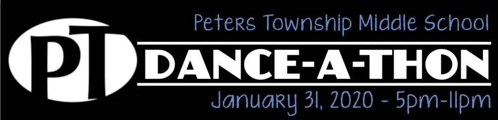 Peters Middle School Dance-A-Thon Banner